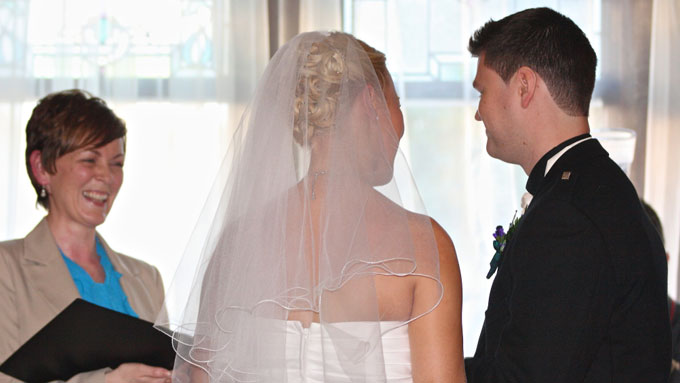 Choosing a wedding celebrant