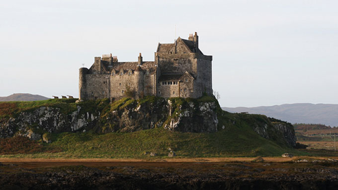 Castle Wedding Mull Scotland