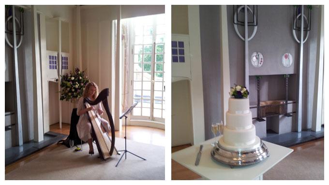 wedding house for art lover