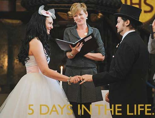 5 days in the life of a Celebrant